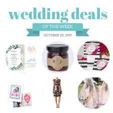 wedding deals wedding deals october 20 2017 the budget savvy