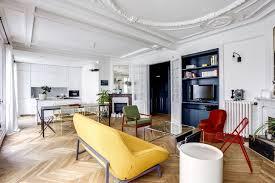 cuisine appartement parisien appartement 17 un 75 m2 haussmannien refait à neuf côté maison