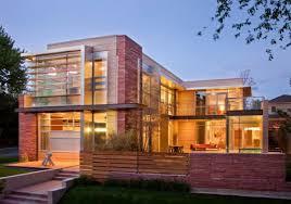 brick house modern design house interior