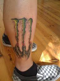 photo collection pin tattoo monster energy