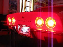 diy c3 corvette led halo lights