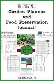 Planning A Garden Layout Free Free Printable Garden Planner And Food Preservation Journal