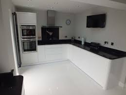 black gloss kitchen ideas kitchen 80 looking wooden floor black and grey wall