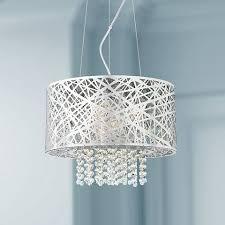 possini euro design lighting possini euro design chrome nest with crystal pendant m9900