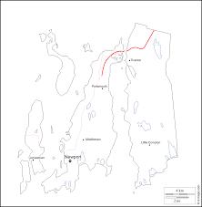 Blank Map Of Rhode Island by Newport County Free Map Free Blank Map Free Outline Map Free
