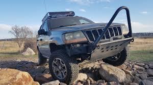 jeep grand cherokee light bar jeep grand cherokee wj stubby bumper