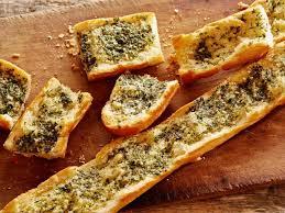 Garlic Bread In Toaster Herbed Garlic Bread Recipe Tyler Florence Food Network