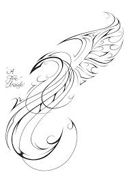 phoenix tattoo design by patrickbrown on deviantart