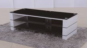 White High Gloss Computer Desk by Tv Stand In White High Gloss Black Glass Homegenies