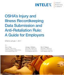 Osha Chair Requirements State Plan Implementation Of Osha U0027s E Recordkeeping Data
