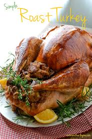 simple roast turkey thyme