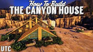 triple a frame house ark building tutorial no mods how to