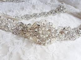 wedding dress belts sashes and belts magnificence bridal