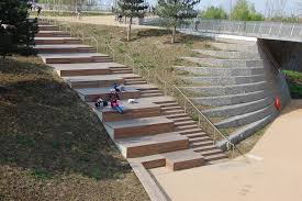 foxy outdoor stairs with exterior stairs designs and modern garden
