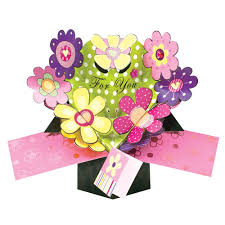 thanksgiving flowers free shipping amazon com pop up flowers greeting card birthday greeting