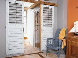 deco porte chambre porte coulissante persienne inspirations et porte placard battant