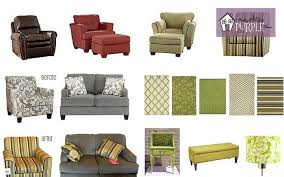 Overstuffed Sofa And Loveseat by How To Mix And Match Your Furniture Pretty Purple Door