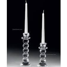 candelieri cristallo candeliere in cristallo ranoldi cm 7x7 h 16 candeliere monofiamma