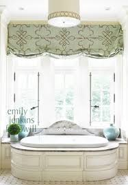 Roman Shades For Bathroom Arched Window Over French Doors With Casual Roman Shades
