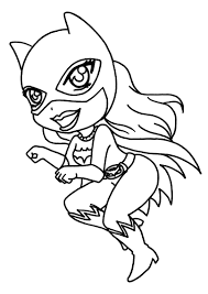 coloring page catwoman catwoman coloring pages to download and
