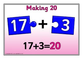 number bonds to 20 activities and teaching resources sparklebox
