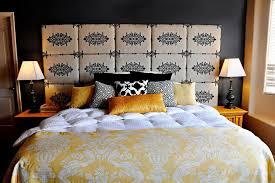 fabric covered headboard ideas home design ideas