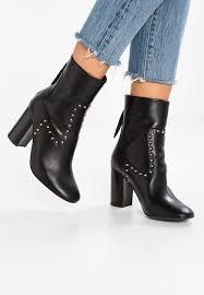 zalando womens boots uk allsaints high heeled ankle boots black zalando co uk
