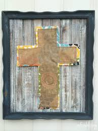 easter frame with diy distressed wood tutorial refresh living