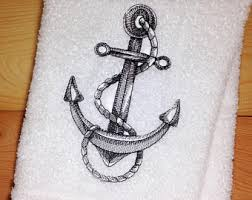 Sailor Bathroom Set Nautical Bathroom Etsy