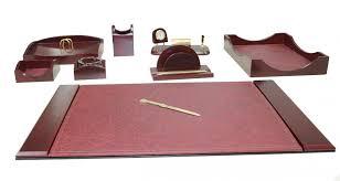 Mahogany Desk Accessories Mahogany Desk Set Saclongchpascher