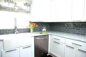 glass mosaic kitchen backsplash light gray backsplash kitchen gray quartz mosaic with light