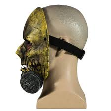 halloween voice changer party city scarecrow mask batman arkham knight pvc half face mask with