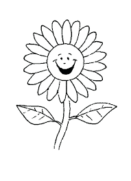 dead flower coloring page cartoon flower coloring pages flower outline coloring page vector of