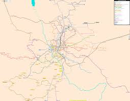 Metro Madrid Map by Madrid Real Distance Metro Map