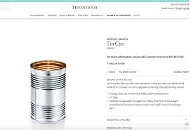 tiffany pilloried u0027everyday objects u0027 collection includes