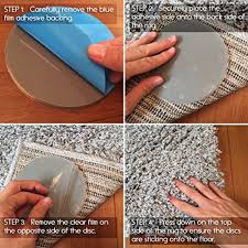 How To Stop A Rug Slipping On Wooden Floors Amazon Com Anti Slip Rug Pads For Area Rugs Kitchen U0026 Dining