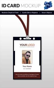 Id Card Design Psd Free Download Id Card Template Ebook