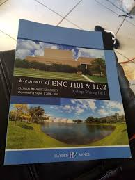 elements of enc 1101 u0026 1102 college writing i u0026 ii florida
