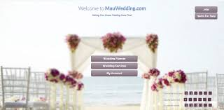 wedding planner website web design agency portfolio wedding planner website design