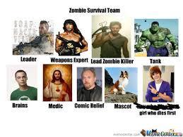 Zombie Team Meme - rmx my zombie survival team by turntechgodhead55 meme center