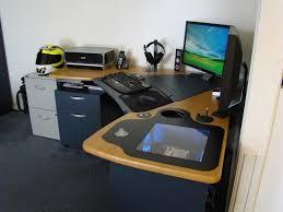 desk diy computer desk plans amazing computer built into desk