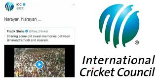 icc account allegedly hacked world cricket gets