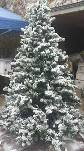 fake snow for christmas trees tabletop snowing christmas tree