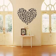 cheetah print wall decor for living room cheetah print wall