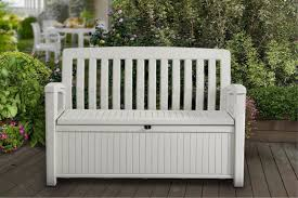 Outside Storage Bench Patio Storage Bench Keter