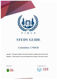 study guide unhcr pimun 2016 by pamir international mun issuu