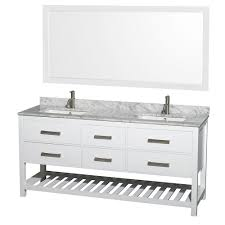 White Double Vanity 60 White Double Sink Vanities With Tops Bathroom Vanities The