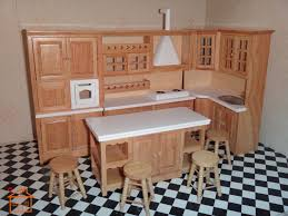 dollhouse furniture kitchen wood and stainless steel kitchen home ideas