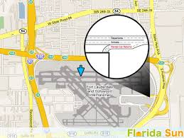 Car Rental Near Port Everglades Fort Lauderdale Fll Rental Car Map
