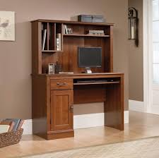 Compact Computer Desk With Hutch Furniture Veneered Computer Desk With Hutch And Storage